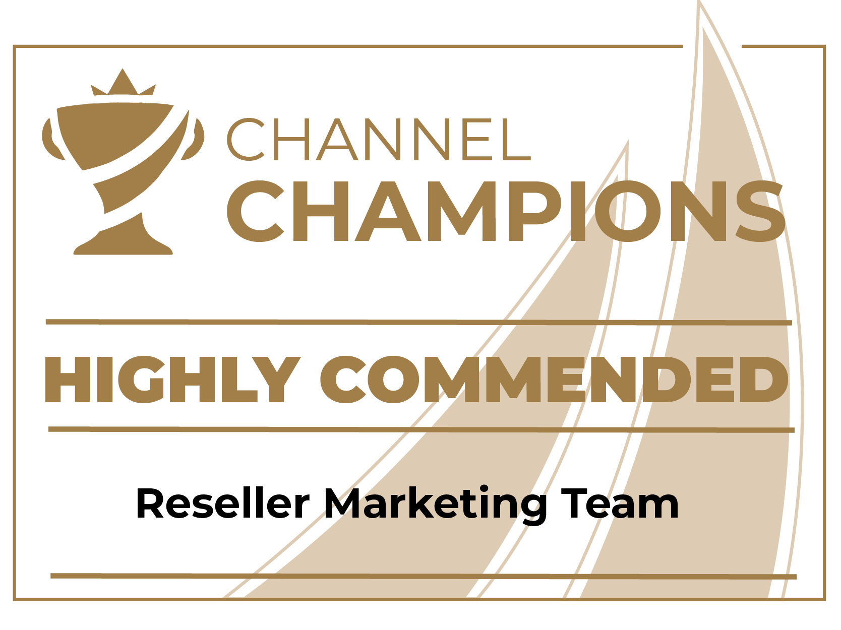Wavenet Channel Champions 2021 - Reseller Marketing Team - Highly Commended