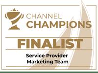Wavenet Channel Champions 2021 Finalist - SP Marketing Team
