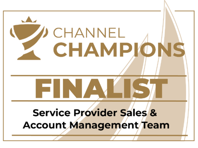 Wavenet Channel Champions 2021 Finalist - SP Sales Teams