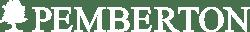 pemberton logo white