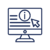 Online informations_blue