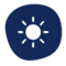 remote work icons blue-14