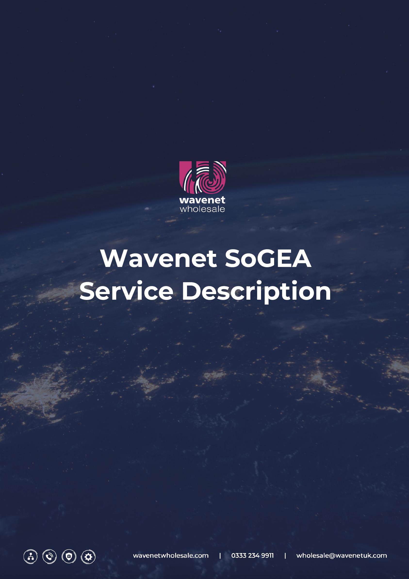 Wavenet Wholesale SoGEA Service Description Cover