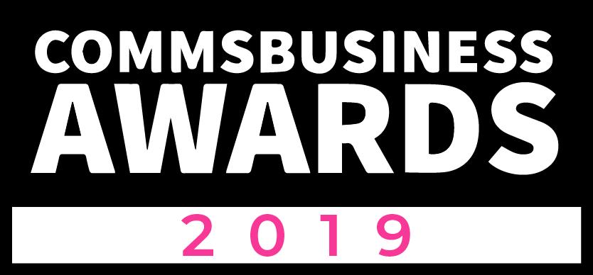 comms business awards 2019 logo