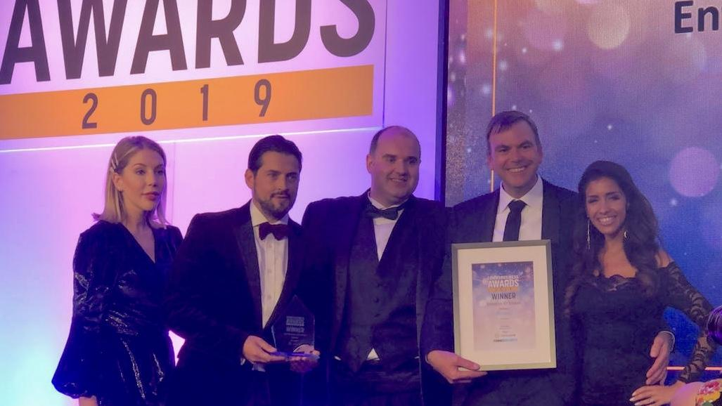 Wavenet Comms Business Award Winners Enterprise ICT Award 2019