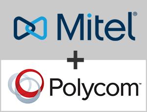 mitel and polycom s