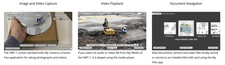 RealWear HMT-1 Features
