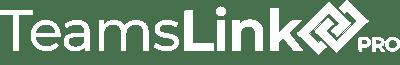 TeamsLink Pro Logo White
