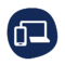 remote work icons blue-05